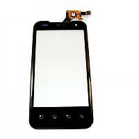 Сенсорный экран для мобильного телефона LG P990 Black