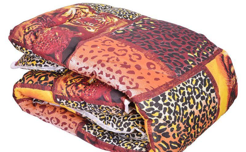 Недорого одеяло овечья шерсть (Поликатон) Двухспальное