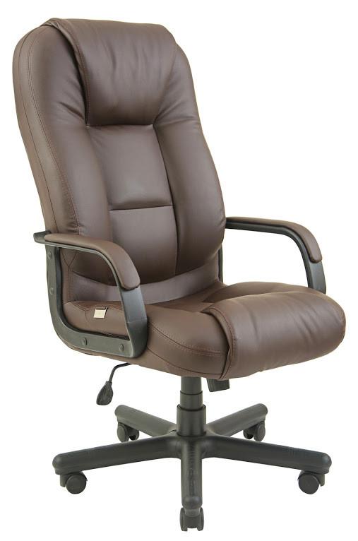 Кресло Севилья пластик механизм Tilt подлокотники с мягкими накладками, экокожа Флай-2231 (Richman ТМ)