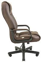 Кресло Севилья пластик механизм Tilt подлокотники с мягкими накладками, экокожа Флай-2231 (Richman ТМ), фото 3