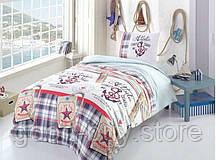 Altinbasak Atlantic детское постельное белье ранфорс полуторное 160х220см