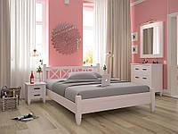 """Кровать """"Бамбук"""" из массива"""