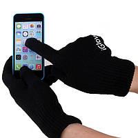 Перчатки iGlove для сенсорных экранов черные