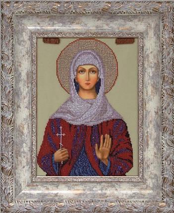 """Набор для вышивания бисером """"Св. Наталия"""", фото 2"""