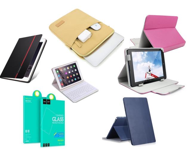 Чехлы и защитные стекла для планшетов