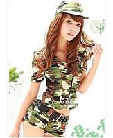 Игровой костюм «Военная девушка». Размеры 42-46. Только предоплата.