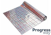 Пленка для теплого пола фольгированная IZOFOLIX (KOTAR). 50 м (100 микрон)