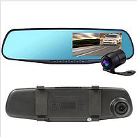 Зеркало заднего вида с камерой и видеорегистратором