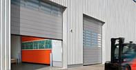 Ворота промышленные секционные ISD01 4000х4000 Doorhan