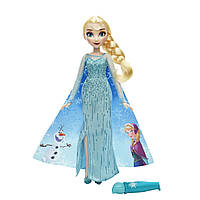 Куклы и пупсы «Disney Frozen» (B6699) кукла Эльза (Elsa) с проявляющимся рисунком, 26 см