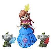 """Куклы и пупсы «Disney Frozen» (B5185) набор маленьких кукол """"Анна и тролли (Anna & Rock Trolls)"""", 7 см"""