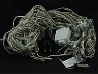 Гирлянда CURTAIN DIGITAL C синяя, провод прозрачный