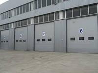 Ворота промышленные секционные ISD01 4500х4500 Doorhan