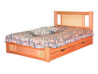"""Двуспальная кровать """"Лавр"""" из массива дерева"""