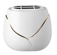 Контейнер для цветов - пересечение - Золото провода Vaschetta portafiori - Incrocio - Filo oro P.03.6433/18/PL