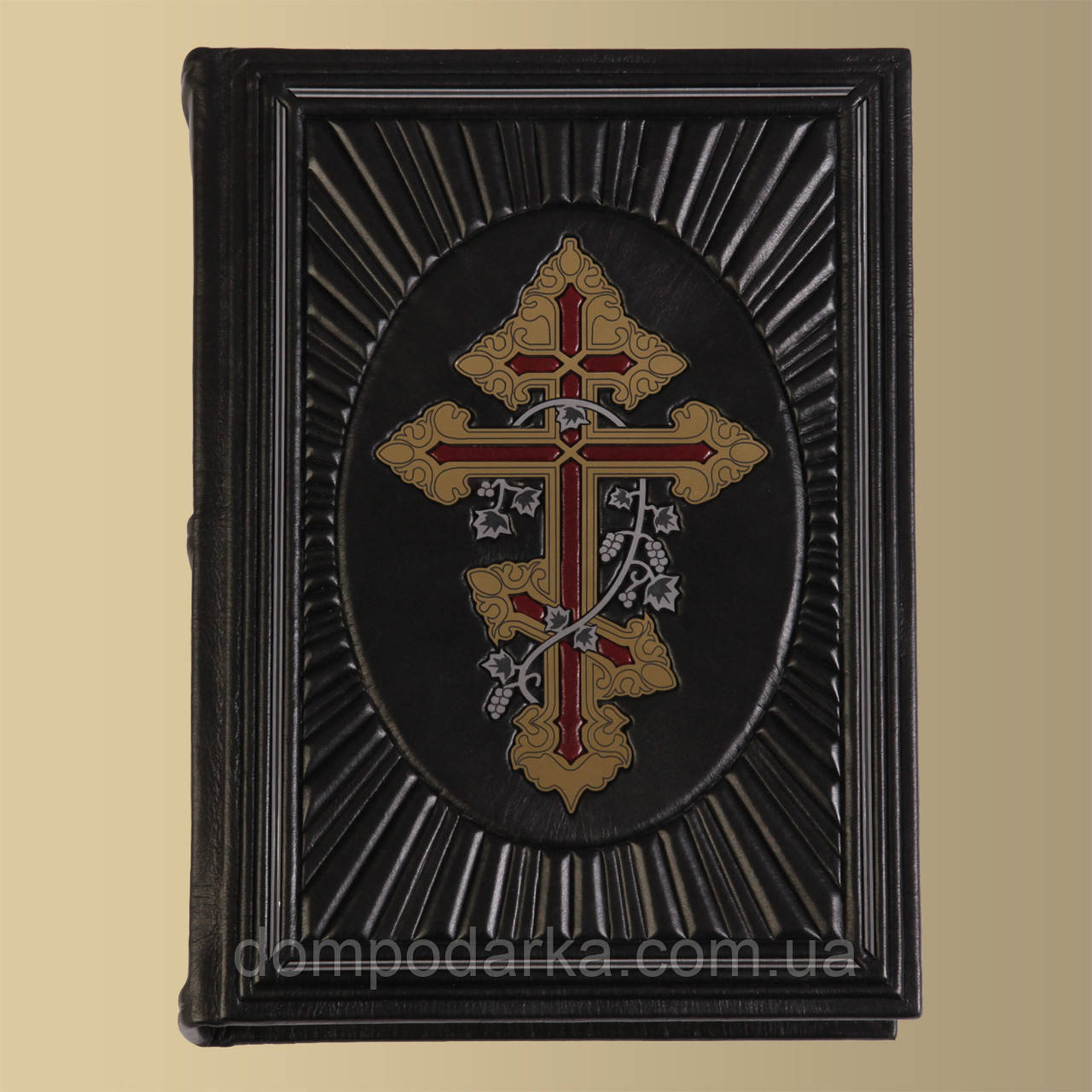 Библия (Крест увитый лозой)
