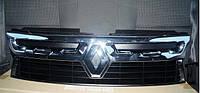 Решетка радиатора хром Рено Дастер ( Renault Duster)
