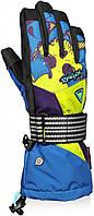 Перчатки  Reusch  Frontflip R-TEXXT  Imp.Blue/Br.Green  11