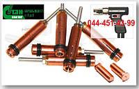 Зажим - фиксатор электрод, цанга для фиксации приварного крепежа в сварочном пистолете