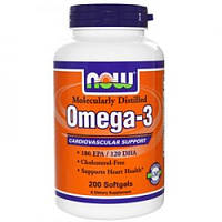 Omega-3 NOW (200 gels)