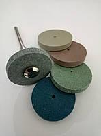 Круг силиконовый абразивный 25 мм для гравера