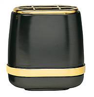 Вазочка - меркурий отделка позолотой Vaschetta mercurio finiture dorate T.03.2983/17/RA