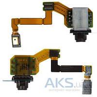 Шлейф для Sony E6603 Xperia Z5 / E6653 Xperia Z5 / E6683 Xperia Z5 Dual с разъемом гарнитуры и микрофоном Original