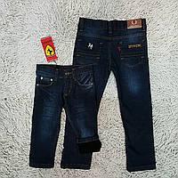 Детские джинсы на флисе Ferrari