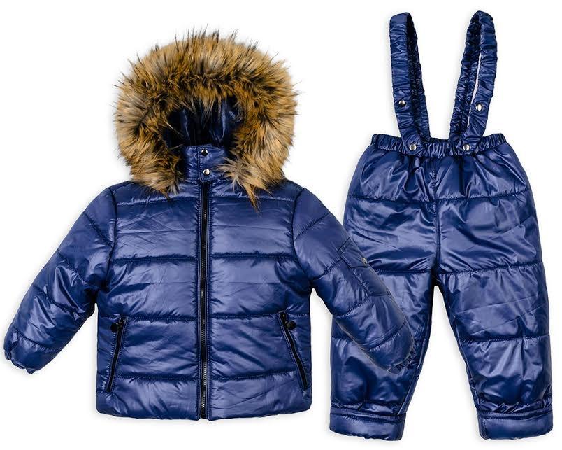 Детский зимний костюм с курткой для мальчика