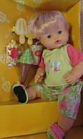 Куколка функциональная малышка с едой