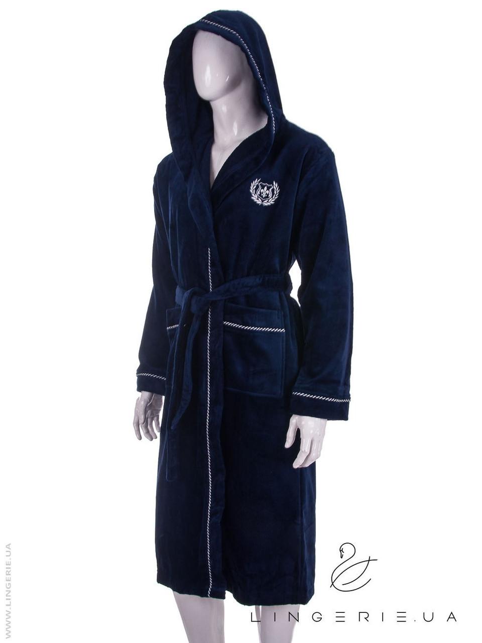 Чоловічий халат з капюшоном VIRGINIA S 7010
