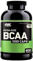 Аминокислоты BCAA 1000 (400 caps) Optimum Nutrition