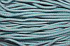 Шнур акрил 6мм. (100м) св.серый+бирюза