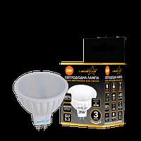 Светодиодная LED лампа 3Вт MR16 4000К 270Лм STANDARD LEDSTAR