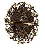 Брошь Vintage Style Камея сиреневая ag5/ цвет сиреневый, основа бронза, фото 2