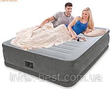 Intex 64414 надувная кровать Comfort Plush 203x152x46см, фото 3