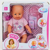 Пупс кукла Baby Warm Бейби Борн BB 8009-434