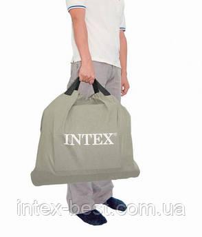 Intex 64408 - надувная кровать Premium Comfort-Plush 152x2013x46см, фото 2