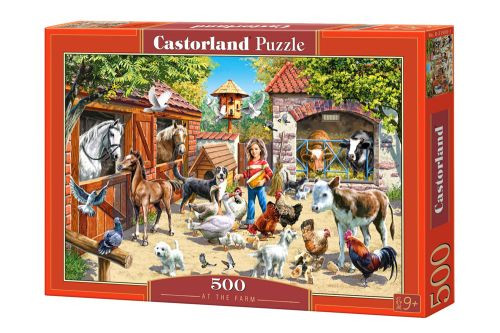 Пазлы Castorland На ферме 51908, 500 элементов