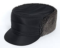 Мужская кепка (жириновка) из плащевки утепленная 56
