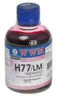 Чернила WWM HP №177/84/85 Light Magenta (H77/LM) (G225161) 200 мл (г)