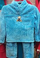 Теплый детский костюмчик для дома 1709