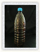 Бутылка ПЭТ 1л коричневая