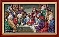 Тайная вечеря Набор для вышивки крестом с печатью на ткани 14ст