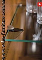 """Крепление для стеклянной полки """"Пеликанчик""""сатин, фото 1"""