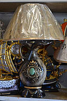Светильник настольный Абажур керамический Кувшин 50см