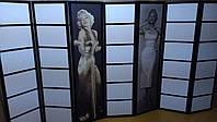 Ширма Marilyn Monroe на 7 секций.