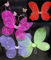 Карнавальный костюм набор крылья Бабочки - Крылья Феи