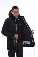 """Зимняя парка Ястреб """"Тарас"""", мужская куртка, черная"""