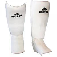 Защита ног (голень+стопа) Х-б+эластан чулок ZEL, MATSA MA-0007-XS ( р. XS, 6-8лет, белый)